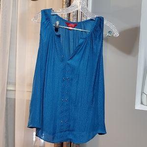 Jennifer Lopez Blue top size S